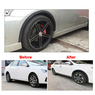 Universal Car Wheel Fender Extension Rubber Moulding Flare Trim Protector For GM