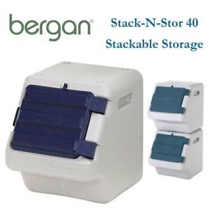 NEW Bergan Stack-N-Stor 40 Stackable Storage Condtion: New, 40