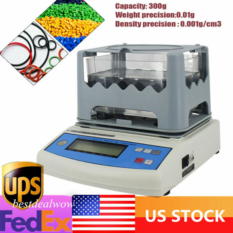 Solid Density Meter LCD Display Electronic Densitometer For Plastic PVC Rubber
