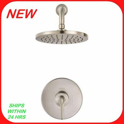 1 Handle Wall Mount - American Standard Chatfield 1-handle Wall-mount Shower Faucet Brushed Nickel