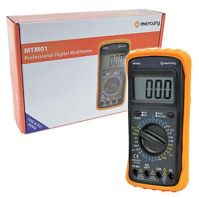 Professional Digital MultiMeter Circuit Tester AC DC Volt Amp Reader MultiTester