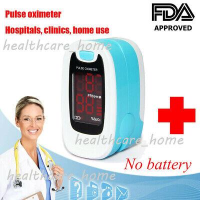 Medical Finger Tip Pulse Oximeter Blood Oxygen Saturation Spo2 Pr Monitor Meter