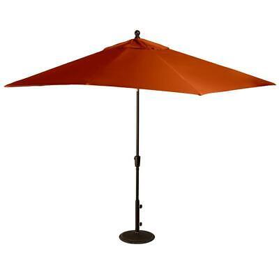 Island Umbrella NU5448TS Caspian Rectangular Market Umbrella