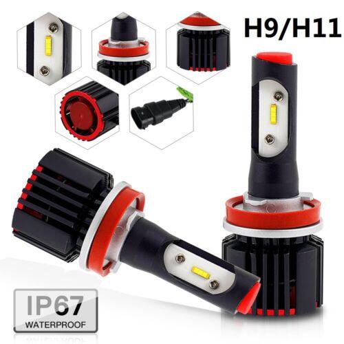 2x H8 H11 LED High Beam For Arctic Cat F1000 F5 F6 F8 Headlight Bulb 6500K White