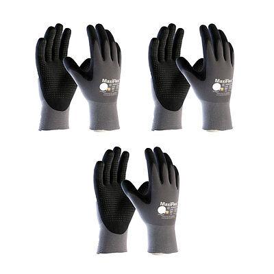 3 Pack Maxiflex Endurancetm 34-844 Nitrile Grip Gloves Sizes Xs-xl