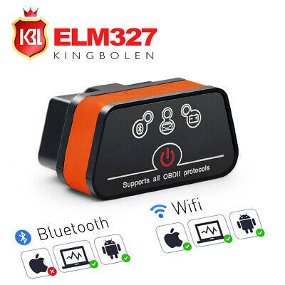 Vgate OBD2 OBDII Scanner ICar2 ELM327 Bluetooth/WiFi Diagnostic Code Creader