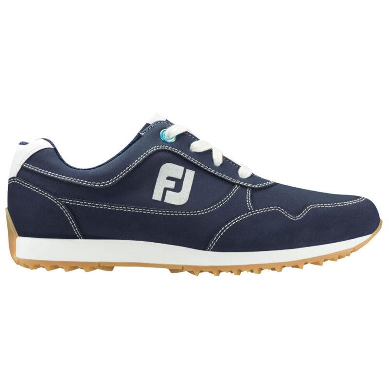 FootJoy Ladies Sport Retro Spikeless Golf Shoes - Navy