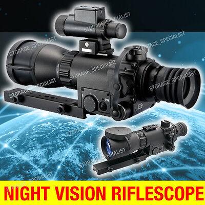 Night Vision Rifle Scope Riflescope Hunting Trail Tracker IR