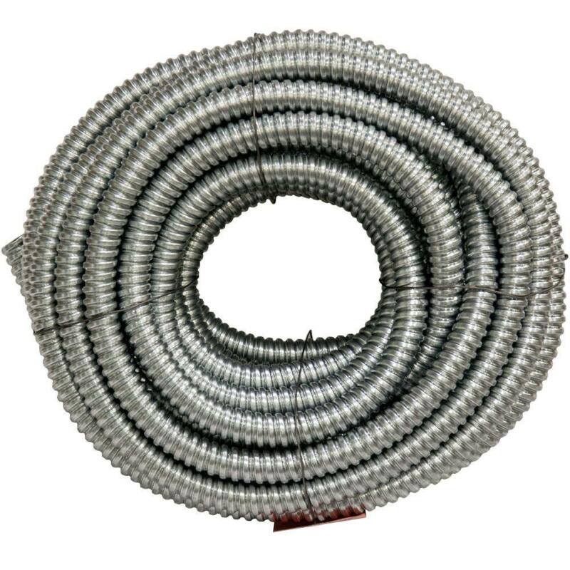 100 Feet Flexible Galvanize Steel Conduit 3/4 Inch Electrical Power Durable Wire