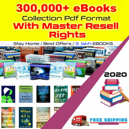 300000 eBooks Package Collection | Pdf Format With Master Resell Rights 02