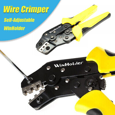 Electric Wire Crimper Pliers Insulated Cable Connectors Terminal Crimping Tool
