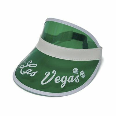 Hunter S Thompson Green Visor Hat Fear And Loathing Las Vegas Raoul Duke Costume - Raoul Duke Costume