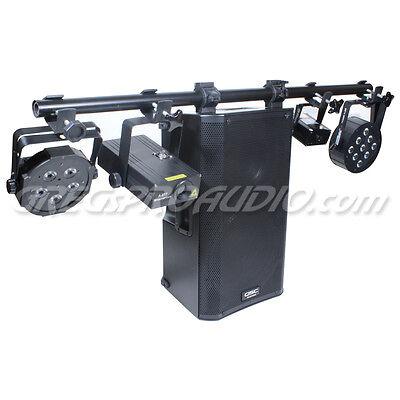 Lighting Stand T Bar Kit 2 each for QSC K12, K10, K8, KW122 KW152 KW153 Speakers for sale  Riverside