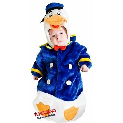 Deluxe Baby Duck Costume Infant Child Donald Bird Quack Quack Sz 0-3 Months (Donald Duck Child Costume)