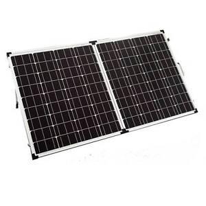 New 12V 160W Solar Folding Panel Kit Caravan Boat Camping Power North Melbourne Melbourne City Preview