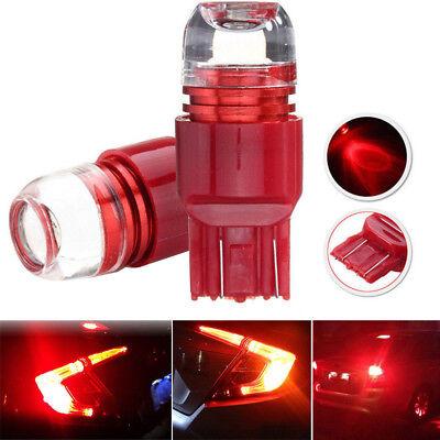 2Pcs Red 5-times Strobe Flashing 7440 7443 LED Bulbs For Car Tail Brake Lights