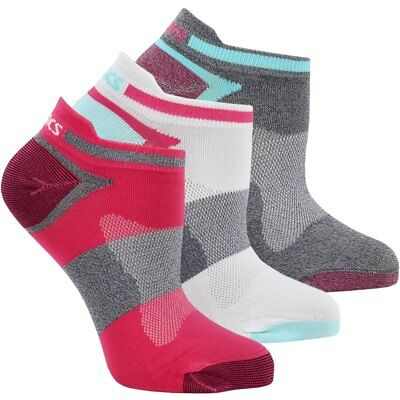 ASICS Quick Lyte Single Tab 3-Pack  Red - Womens - Size M (Single Pack Socks)