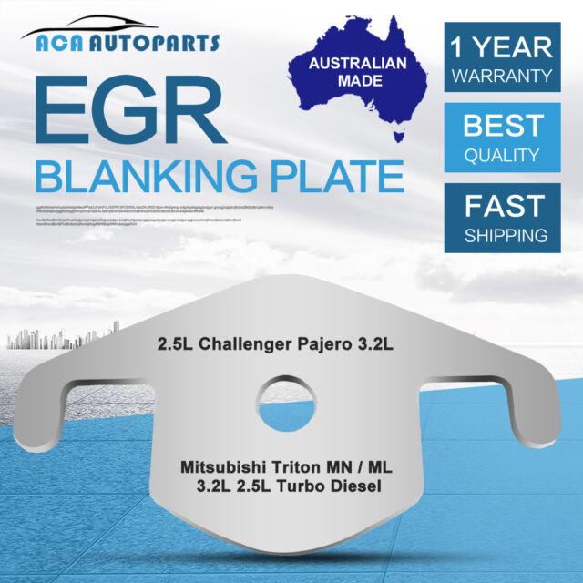 Mitsubishi EGR Blanking Block Plate Challenger Triton MN ML 3.2 2.5 TD Pajero