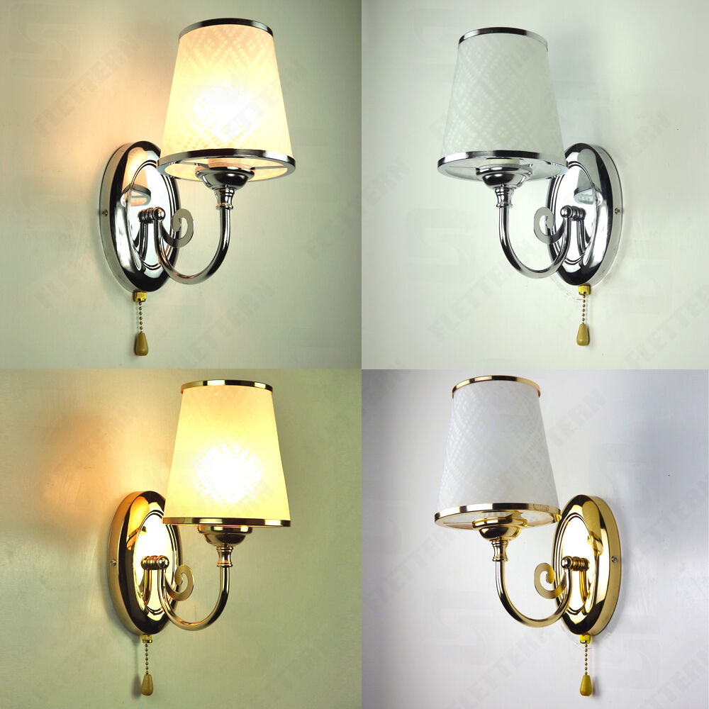 Minimalis Nordic chrome Silver/Gold LED Wall Lights Sconce ...
