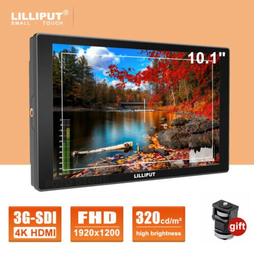 "LILLIPUT A11 10.1"" 4K Camera Monitor HDMI 3G-SDI Input Outpu"
