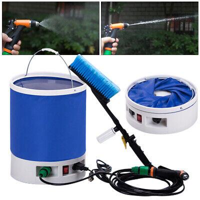 12v High Pressure Car Washer Wash Pump Sprayer Car Cleaner Washing Brush Tool