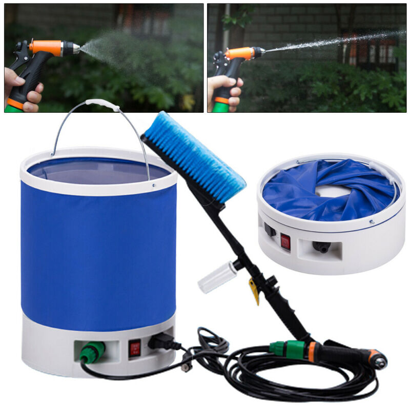 High Pressure Car Wash Cleaning Tool Portable Electric Car Washer Sprayer Gun
