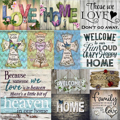 Full Drill Home Love 5D Diamond Painting Cross Stitch Hand Embroidery Room Decor