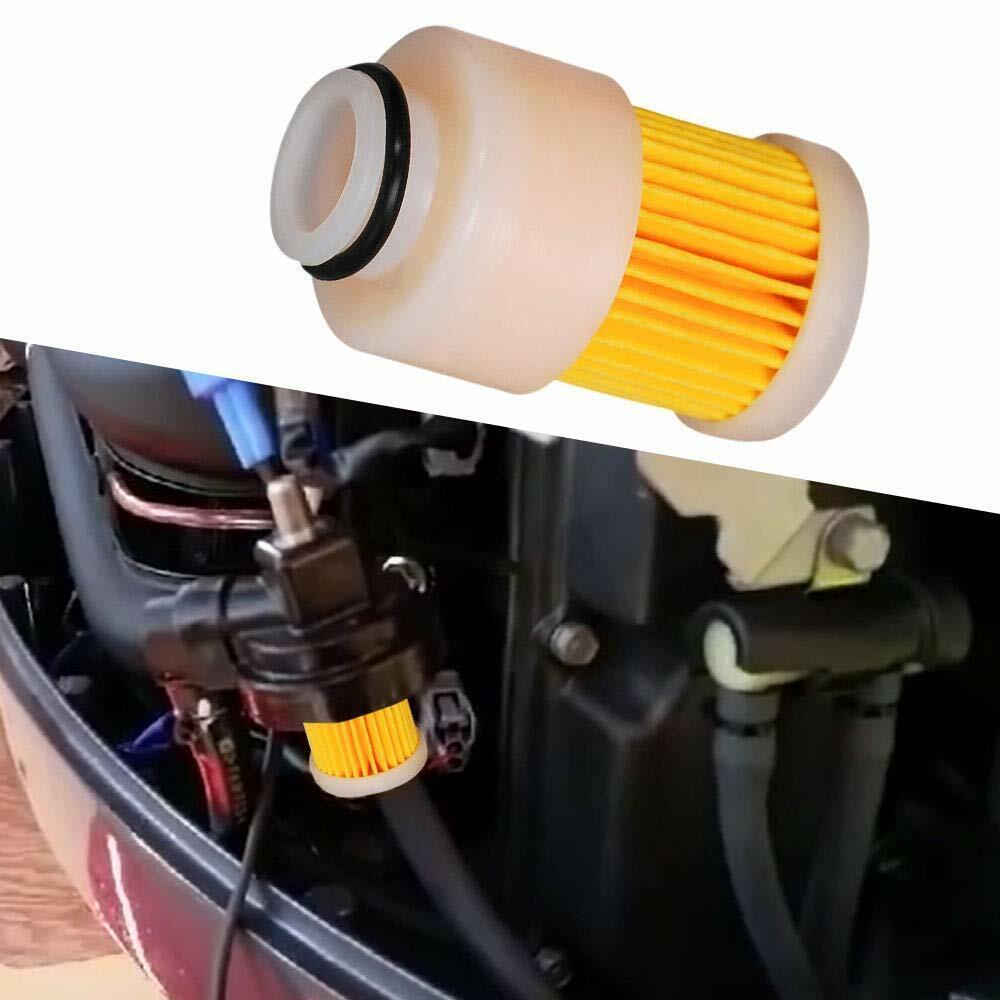 8Pcs Outboard Fuel Filter For 4 Stroke Yamaha Mercury 68V ...
