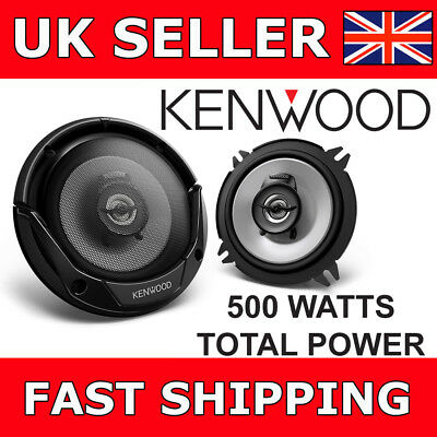 "Kenwood KFC-E1365 5.25"" Inch 13CM 500W 2 Way Car Van Door Coaxial Speakers NEW"