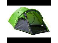 3 MAN HALFORDS DELUXE DOME TENT WITH PORCH BRAND NEW IN BAG £25