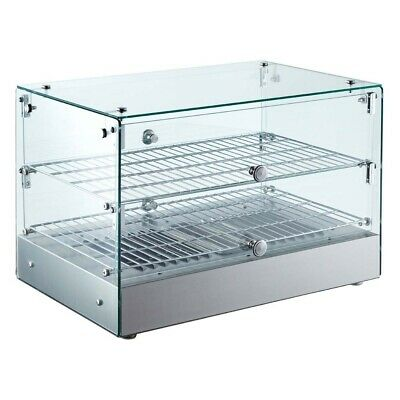 Marchia Hsa50 22 Straight Glass Countertop Hot Food Warmer Display Case