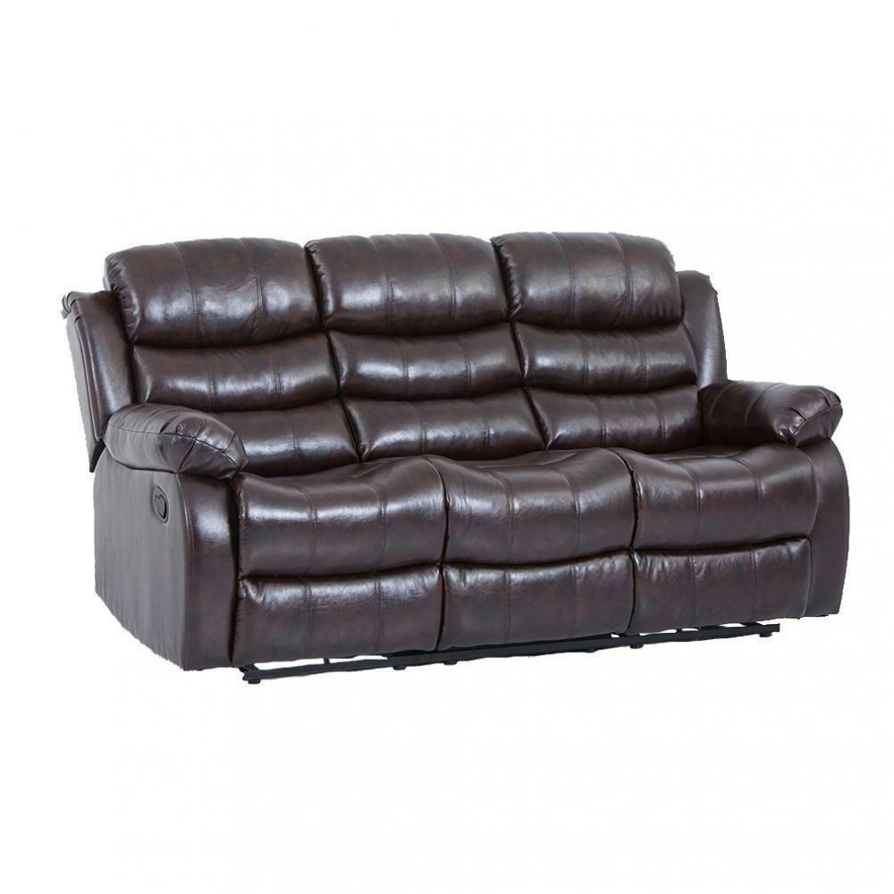 New Living Room set ,Loveseat Chaise Reclining Couch,Recliner Sofa Chair Leather 4