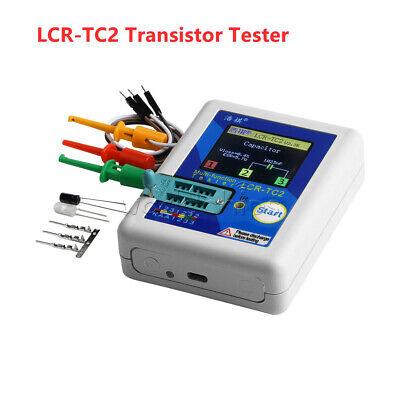 Upgraded Lcr-tc2 Transistor Tester Tft Diode Triode Capacitance Meter Esr Kit