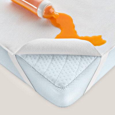 Alvi - Wasserdichte Betteinlage Baby / Matratzenauflage - Molton - 70x140 cm