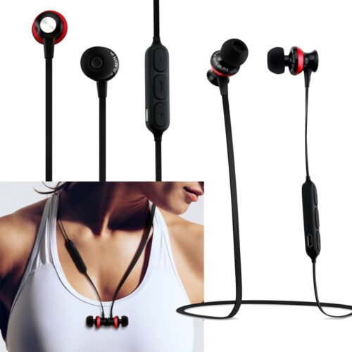 Magnetic Wireless Sport Bluetooth Stereo Headphone Earbuds