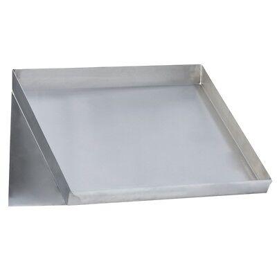 Stainless Steel Commercial Slant Rack Shelf 42x22