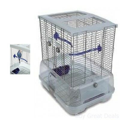 New Bird Cage Model Small Indoor Pet New For Lovebirds Parrot Parakeet Cockatiel