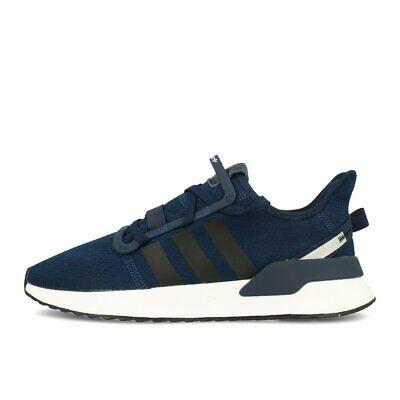 adidas U_Path Run Navy Black White Schuhe Sneaker Blau Schwarz Weiß