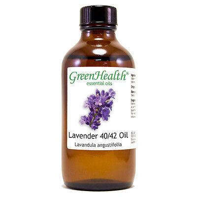 4 fl oz Lavender 40/42 Essential Oil  - GreenHealth