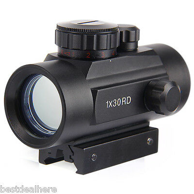 1 x 30RD Tactical Holographic Red Dot Riflescope Sight Scope for Shotgun Rifle