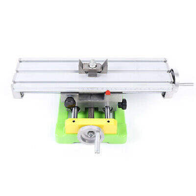 Milling Drilling Machine Support Work Table Cross Slide Bench Drill Press Vise
