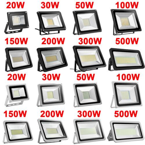 10W 20W 30W 50W 100W 150W 200W 300W 500W LED Flood light Waterproof Outdoor Lamp