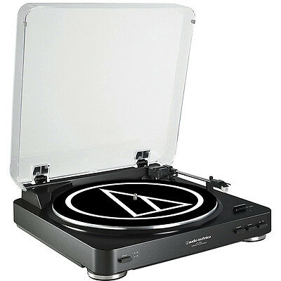 Audio-Technica AT-LP60 Fully Automatic Stereo Turntable System - Black