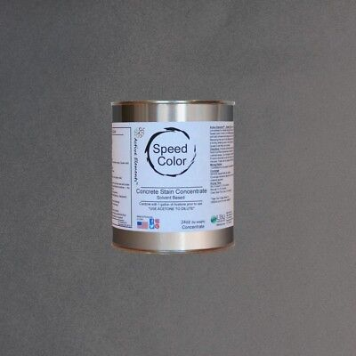 Fast Drying Concrete Paint 24oz Concentrate Yields 1 Gallon Charcoal Color