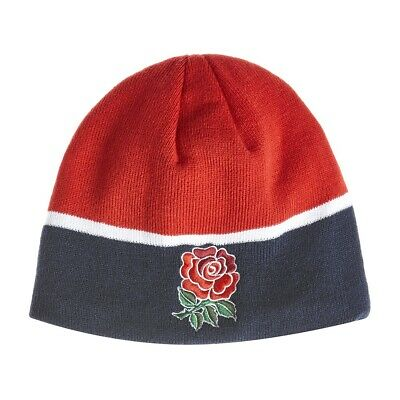 Canterbury Beanie (England Rugby Canterbury Men's Beanie Hat - One Size - Navy - New)