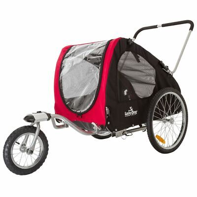 Lucky Dog Deluxe Pet Stroller/Bike Trailer Combo