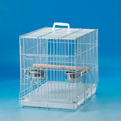 Collapsible Pet Carrier Cage Travel for Small Bird