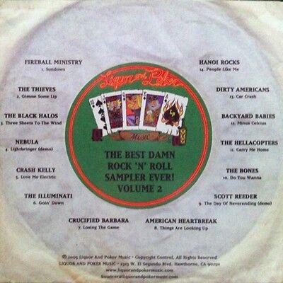 Best Damn Rock 'N' Roll Sampler Ever Vol 2~2005 LIQUOR & POKER MUSIC CD (Best Hard Rock Albums Ever)