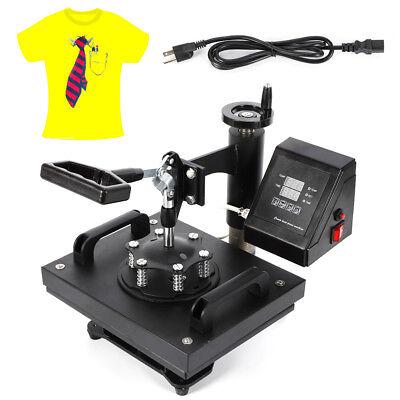 Heat Press Transfer Digital 12 X 10 Hat Cap T-shirt Sublimation Machine New