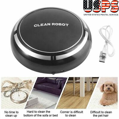 3 IN 1 Smart Robot Vacuum Cleaner Auto Cleaning Microfiber Mop Floor Sweeper US